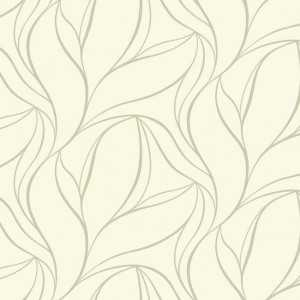Papel de Parede Silver Leaf - SL5698
