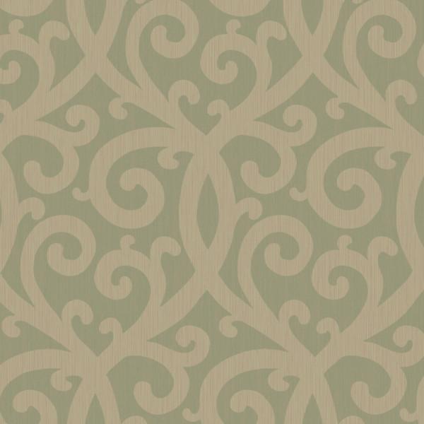 Arabesco cinza esverdeado
