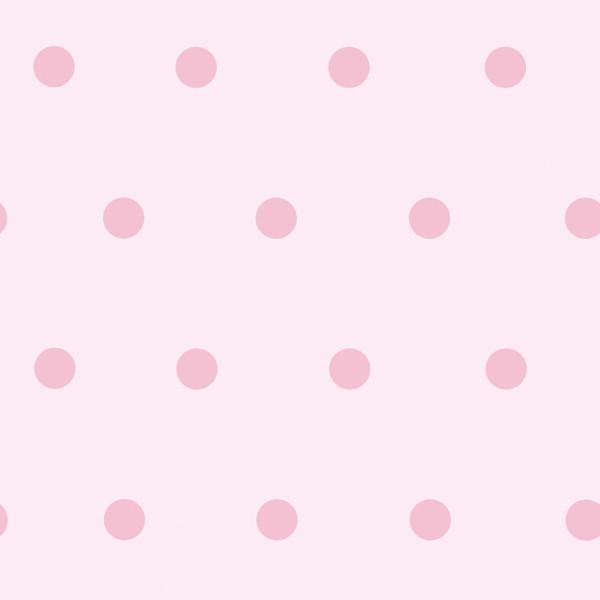 Rosa com poá  pink