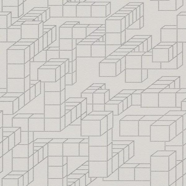 Geométricos quadrados cinza