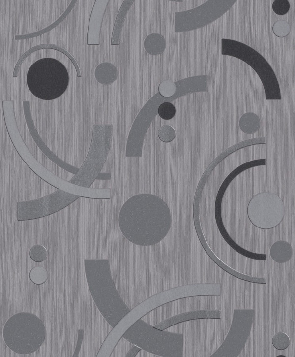 Geométricos tons cinza, preto
