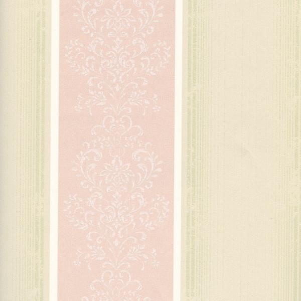 Listras com arabesco rosa