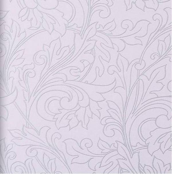 Ramos de folhas pratead,o fundo rosa
