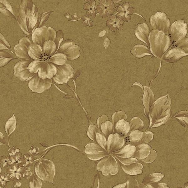 Floral fundo marrom