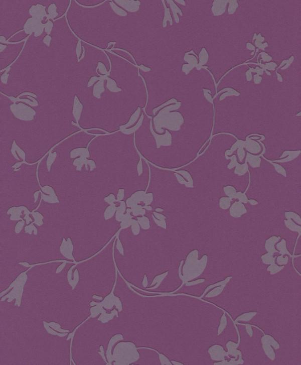 Floral cinza, fundo uvo