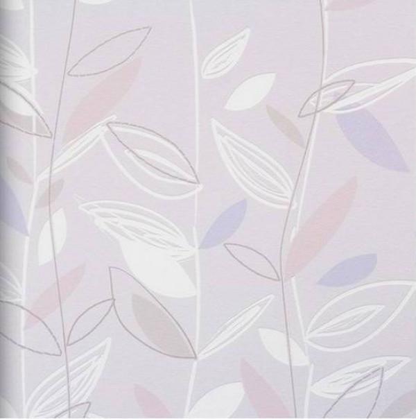 Folhas rosa