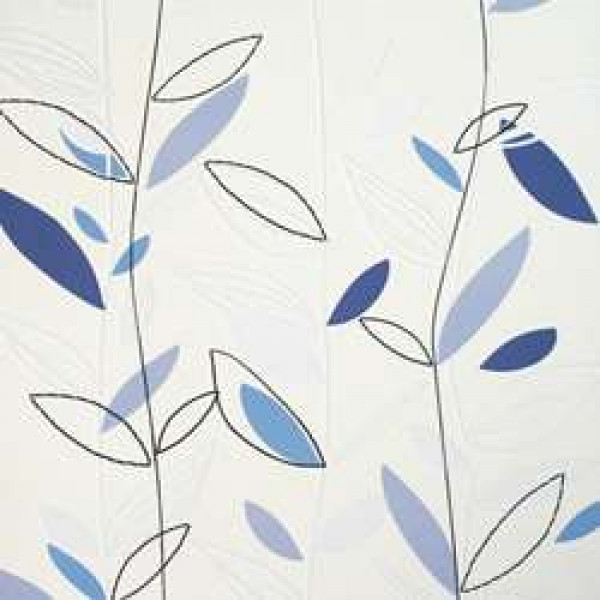 Folhas azul